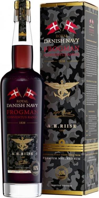 Rum A.H.Riise Frogman Conventus Ranae 0,7l 60%