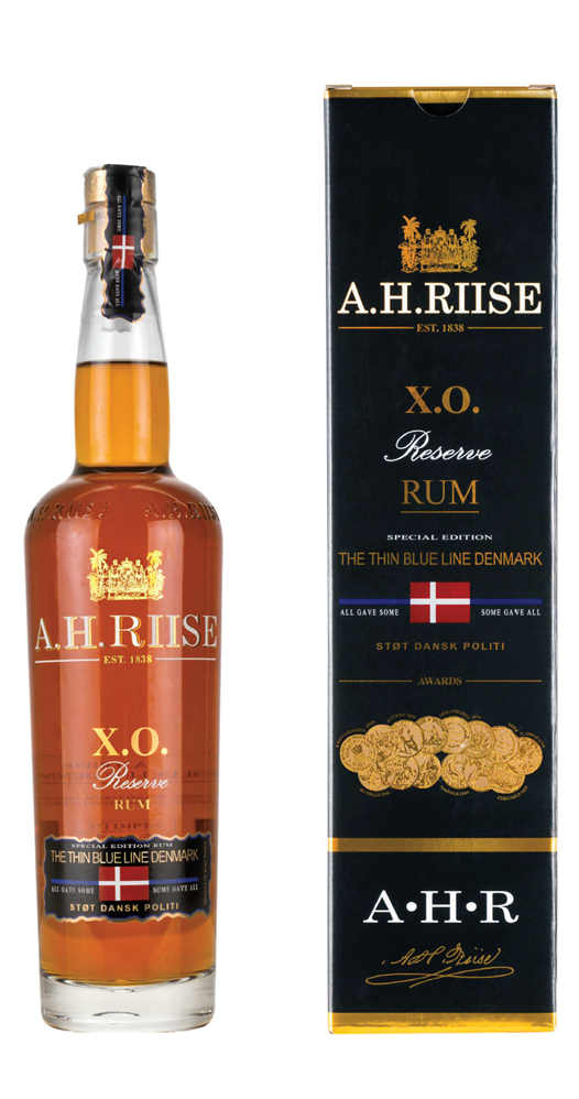 Rum A.H.Riise X.O. Reserve The Thin Blue Line Denmark 21y 0,7l 40%