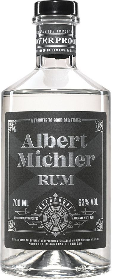 Rum Albert Michler Overproof 0,7l 63%