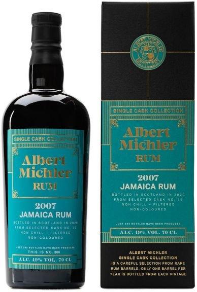 Rum Albert Michler Single Cask Jamaica 13y 2007 0,7l 49% GB / Rok lahvování 2020