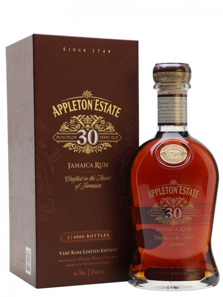 Rum Appleton Estate 30y 0,75l 45% L.E.