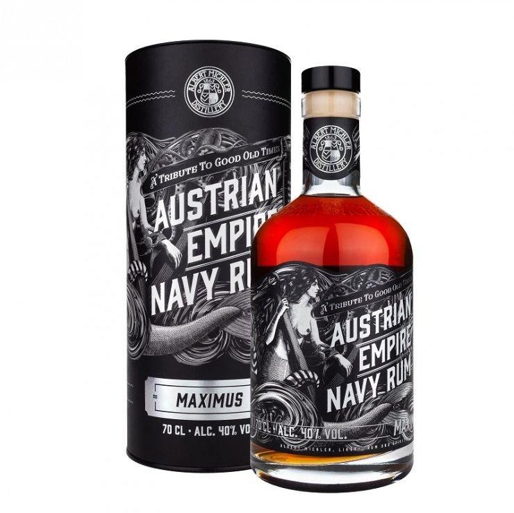 Rum Austrian Empire Navy Maximus 0,7l 40%
