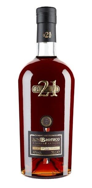 Rum Baoruco 21y 0,7l 40%