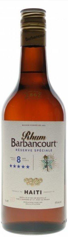 Rum Barbancourt 8y 0,7l 43%
