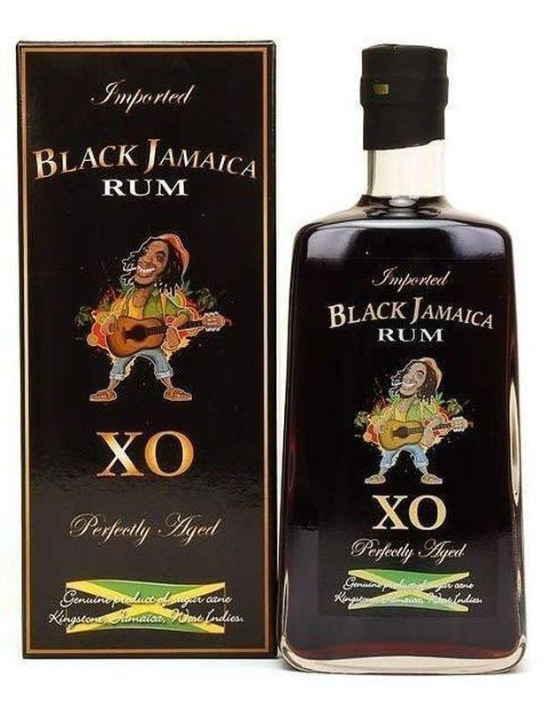 Rum Black Jamaica XO 0,7l 40% GB