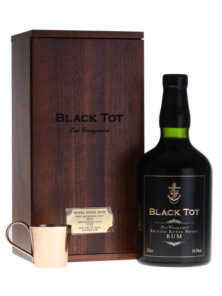 Rum Black Tot Last Consignment 0,7l 54,3%