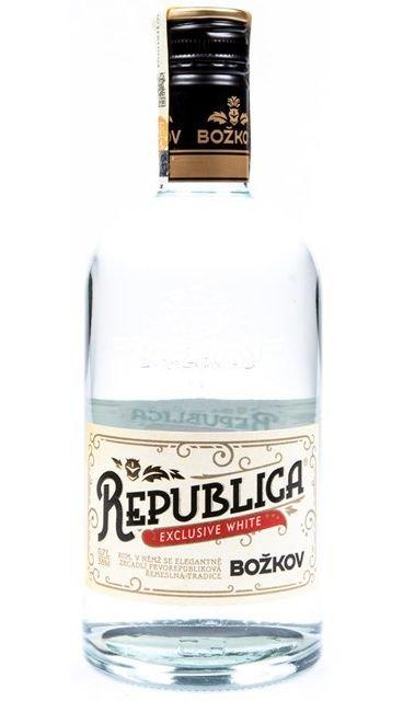 Rum Božkov Republica Exclusive Bílá 0,7l 38%