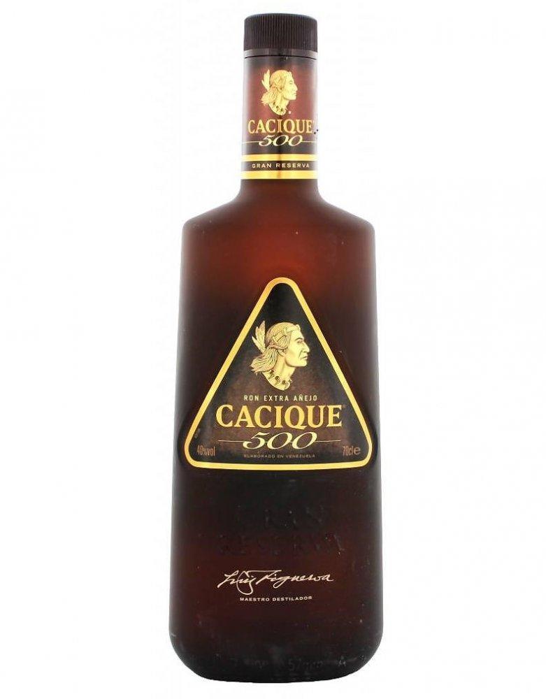 Rum Cacique 500 Extra Anejo Rum 8y 0,7l 40%