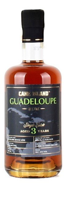 Rum Cane Island Guadeloupe Rum 3y 0,7l 43%