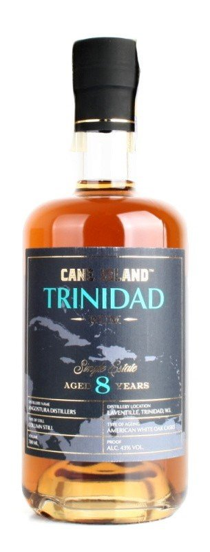 Rum Cane Island Trinidad Rum 8y 0,7l 43%