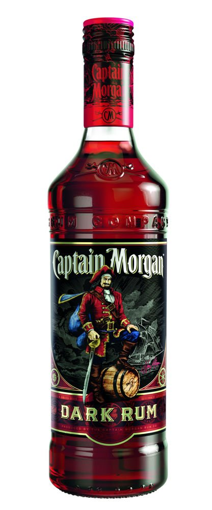 Rum Captain Morgan Dark 0,7l 40%