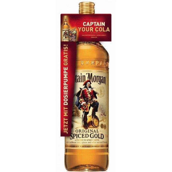 Rum Captain Morgan Gold 3l 35%