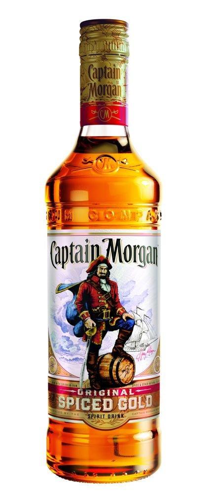 Rum Captain Morgan Original Spiced Gold 1l 35%