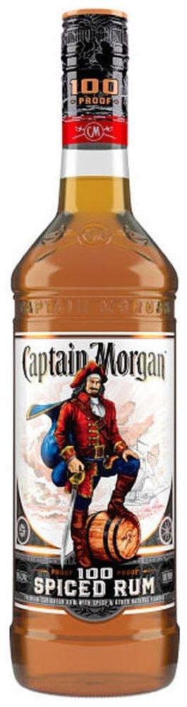 Rum Captain Morgan Spiced 100 Proof 1l 50%
