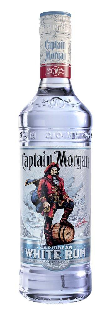 Rum Captain Morgan White 0,7l 37,5%