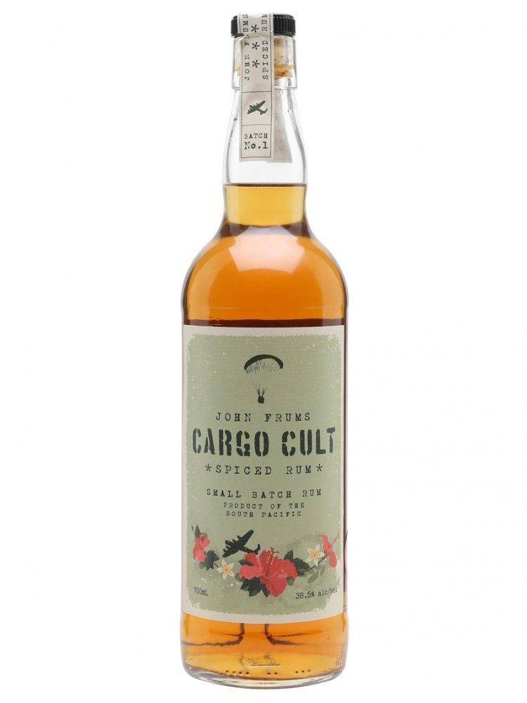Rum Cargo Cult Spiced Rum 0,7l 38,5%