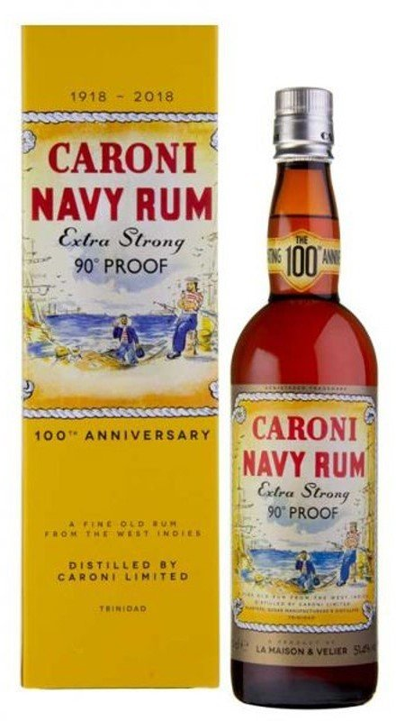 Rum Caroni Extra strong 90°Proof 18y 0,7l 51,4% GB