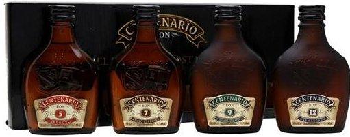 Rum Centenario 5y, 7y, 9y, 12y 4×0,2l