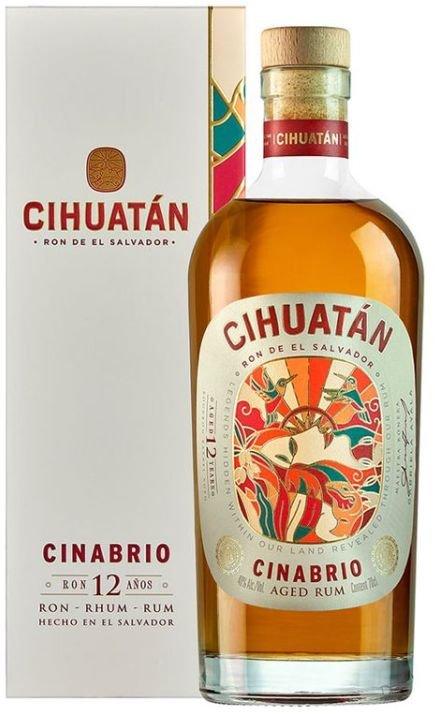 Rum Cihuatán Cinabrio 12y 0,7l 40%