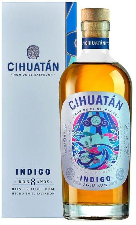 Rum Cihuatán Indigo 8y 0,7l 40%
