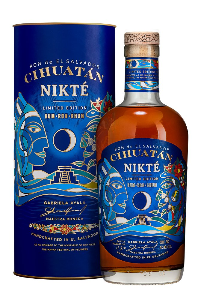 Rum Cihuatán Nikté 0,7l 47,5% L.E. Tuba