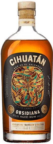 Rum Cihuatán Obsidiana 1l 40%