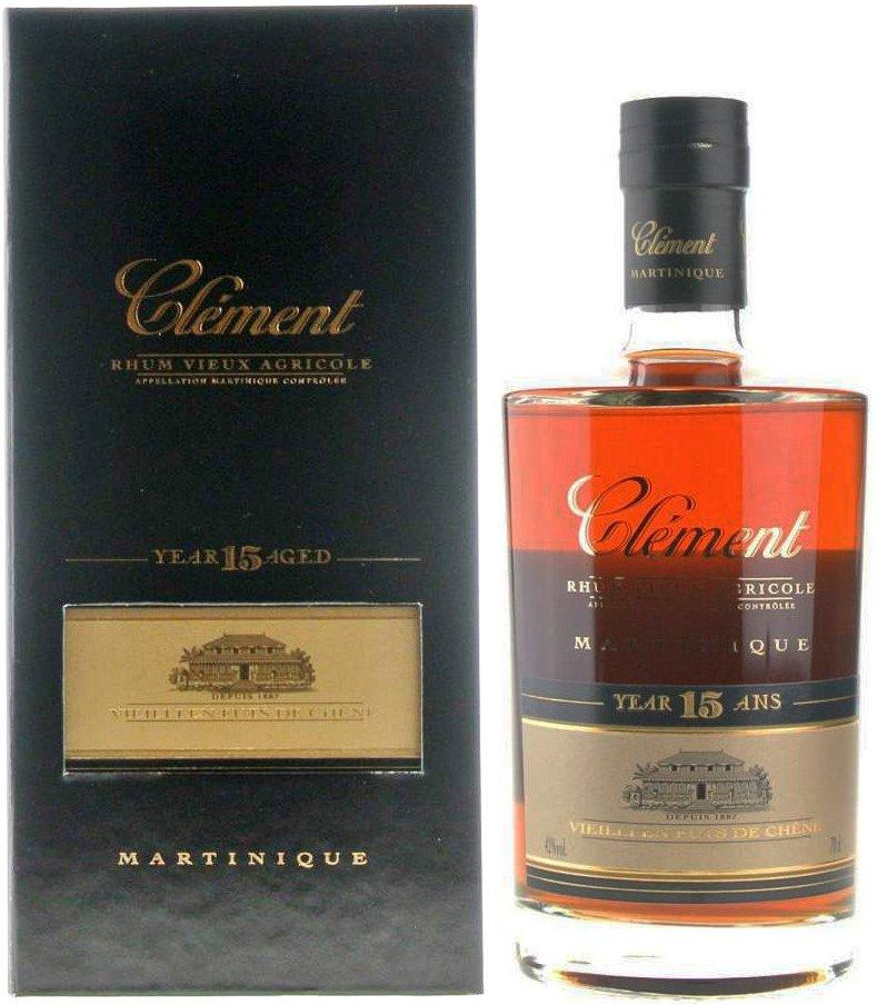 Rum Clement 15y 0,7l 42%