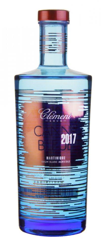 Rum Clement Blanc Canne Bleue 2017 0,7l 50%