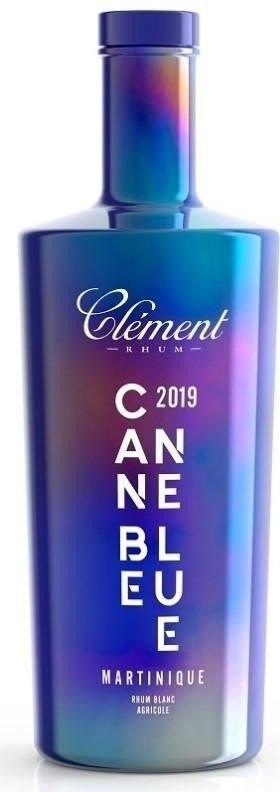 Rum Clement Blanc Canne Bleue 2019 0,7l 50%