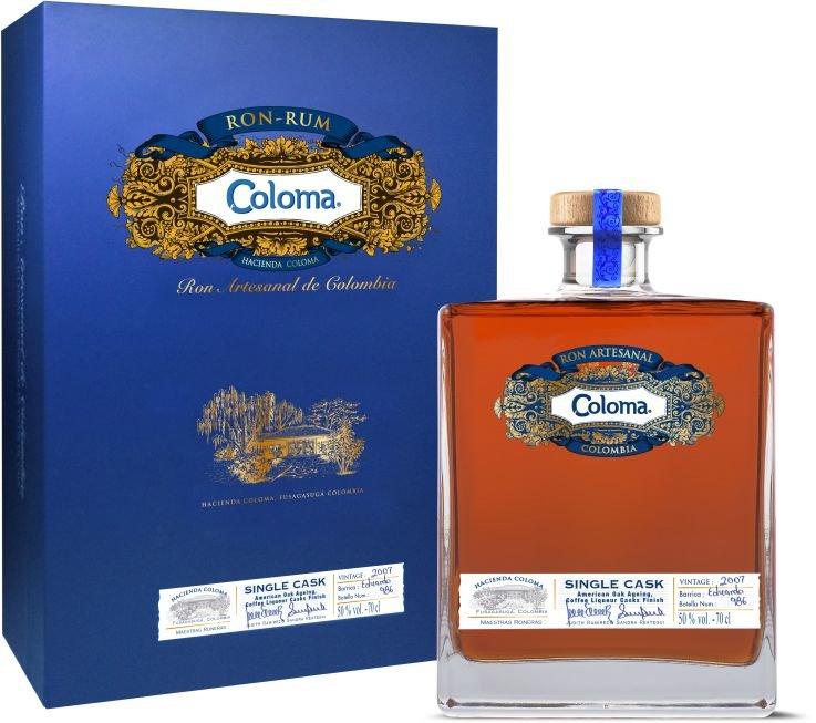 Rum Coloma Single Cask 13y 2007 0,7l 50,3% GB L.E. / Rok lahvování 2020
