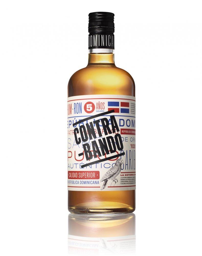 Rum Contrabando Anejo 5y 0,7l 38%