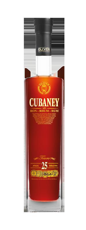 Rum Cubaney Tesoro 25y 0,7l 38%