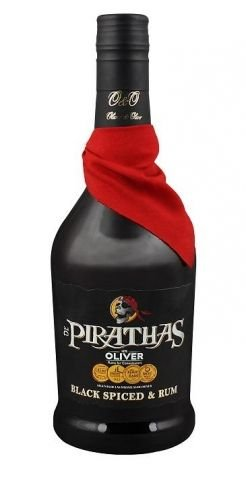 Rum De Pirathas Black Spiced 0,7l 35%
