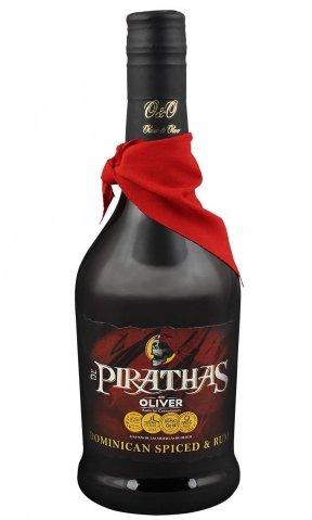 Rum De Pirathas Dominican Spiced 0,7l 35%