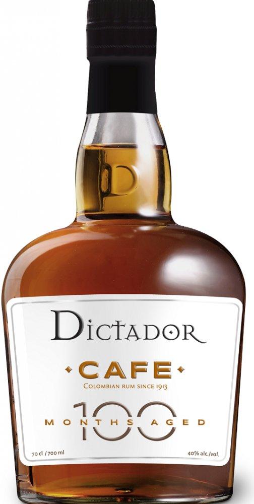 Rum Dictador 100 Months Cafe 0,7l 40%