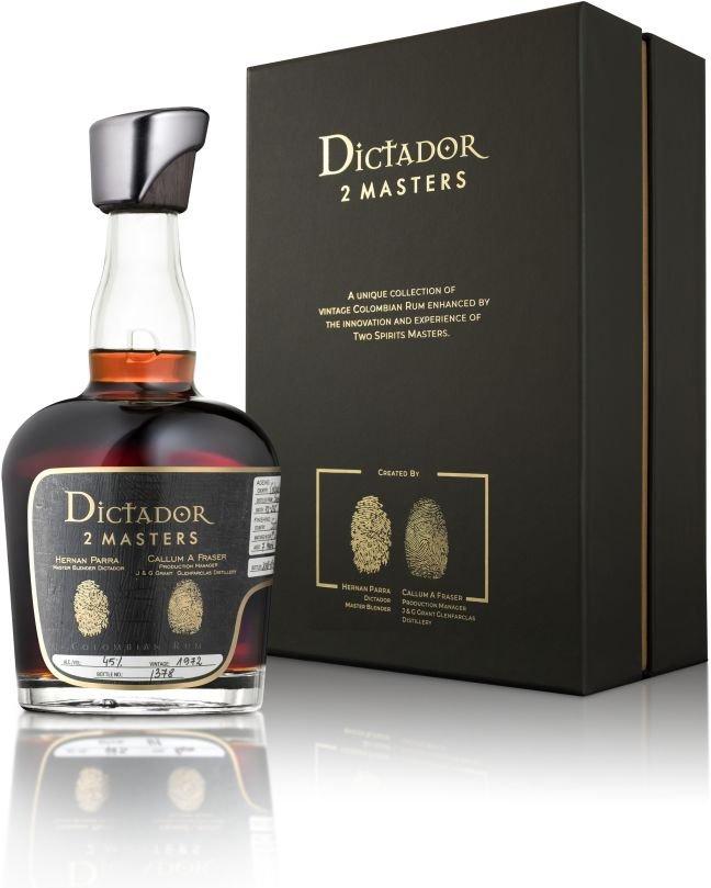 Rum Dictador 2 Masters Glenfarclas 45y 1972 0,7l 45% L.E. / Rok lahvování 2017