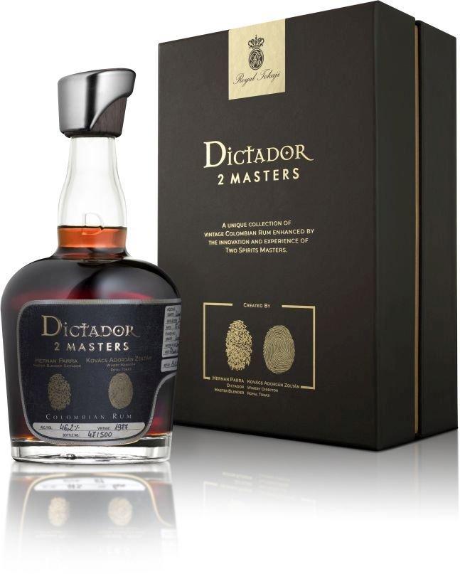 Rum Dictador 2 Masters Royal Tokaji 42y 0,7l 46,2% GB