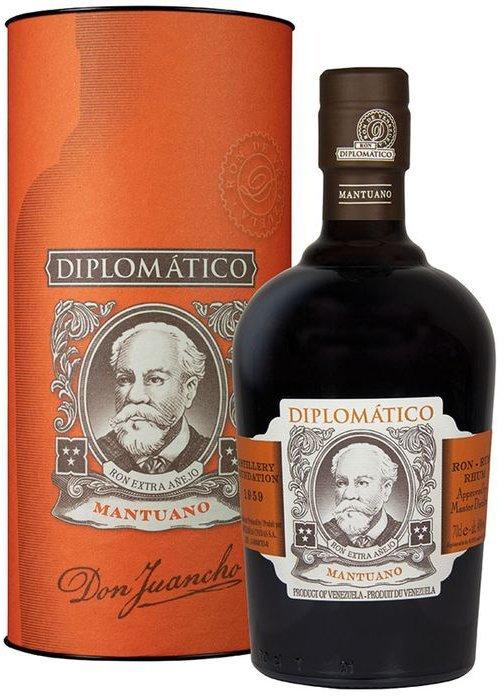 Rum Diplomatico Mantuano 8y 0,7l 40% Tuba