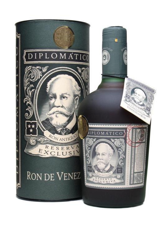 Rum Diplomatico Reserva Exclusiva 12y 0,7l 40% Tuba