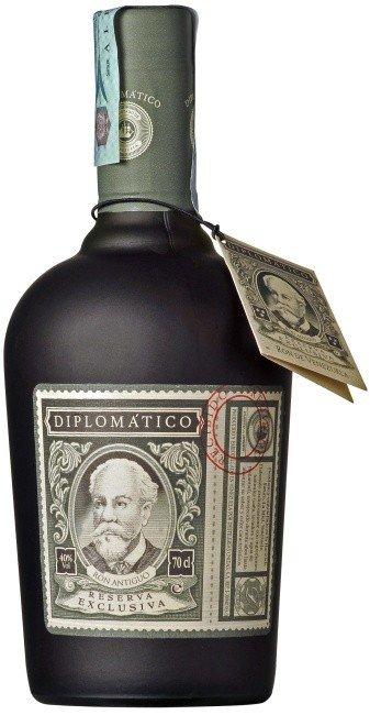 Rum Diplomatico Reserva Exclusiva 12y 0,7l 40%