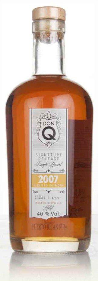 Rum Don Q Signature Release Single Barrel 9y 2007 0,7l 40% L.E. / Rok lahvování 2016