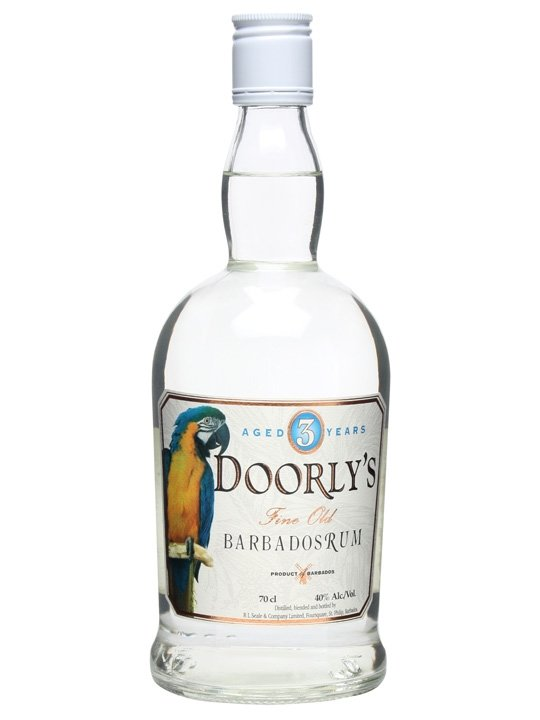Rum Doorly's White 3y 0,7l 40%