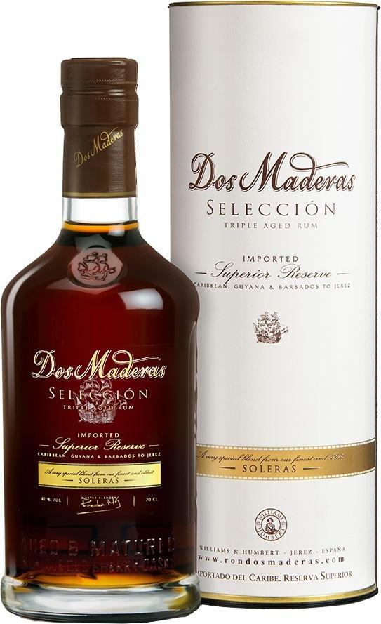 Rum Dos Maderas Seleccion 10y 0,7l 42%