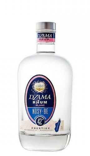 Rum Dzama Nosy-Be Prestige Blanc 0,7l 42%