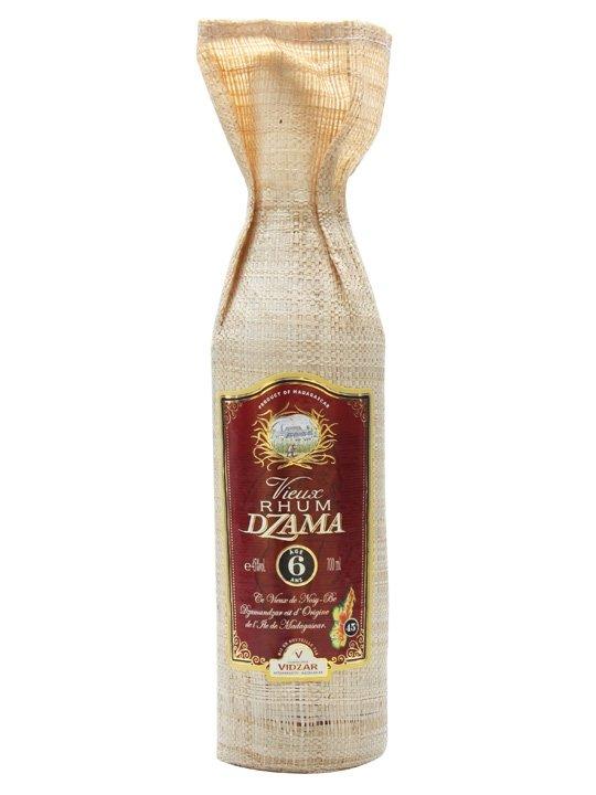 Rum Dzama Vieux 6y 0,7l 45%