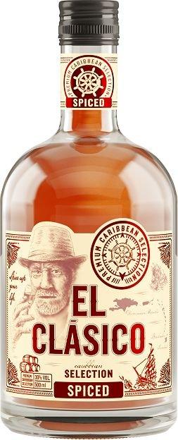 Rum El Clásico Spiced 0,5l 30%