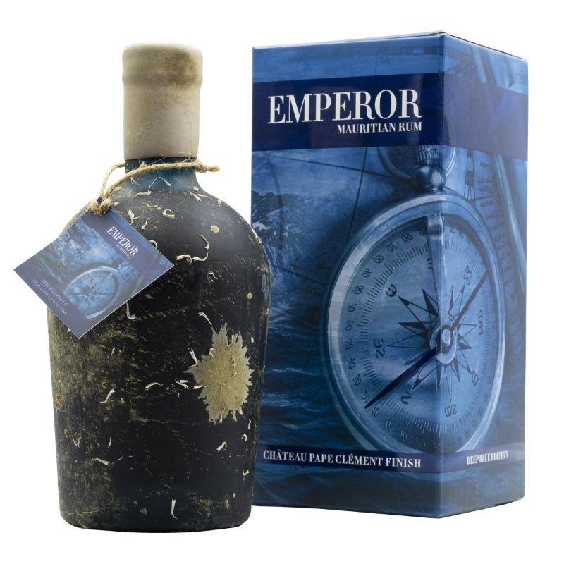 Rum Emperor Deep Blue Edition Chateau Pape Clément finish 13y 0,7l 40% L.E.