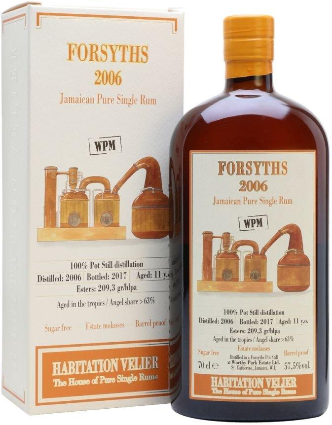 Rum Habitation Velier Forsyths 10y 2006 0,7l 57,5% GB / Rok lahvování 2016
