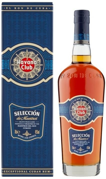 Rum Havana Club Selección De Maestros 15y 0,7l 45% GB
