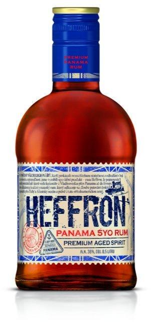 Rum Heffron Panama Rum 5y 0,7l 38%